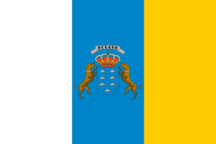 Archivo:Flag of the Canary Islands.jpg