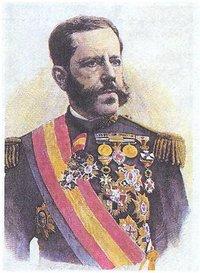 El general Weyler, gobernador de Cuba